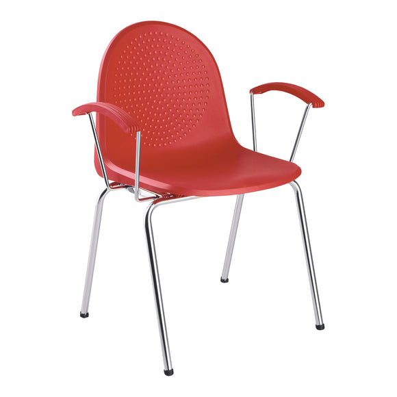 Ami Stackable Arm Chair