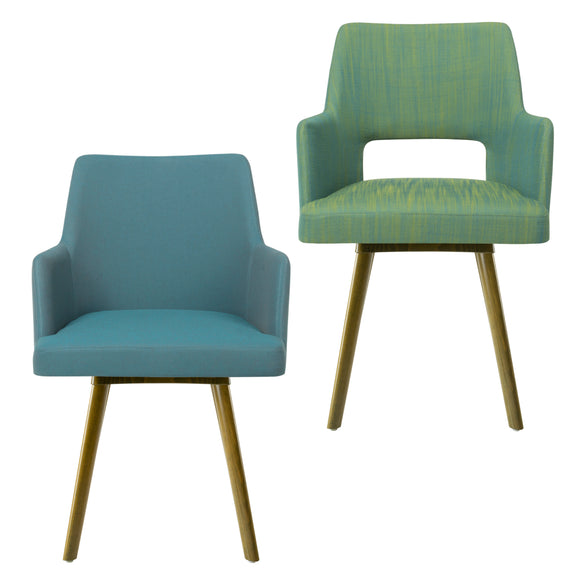 Alistair Round Leg Arm Chair