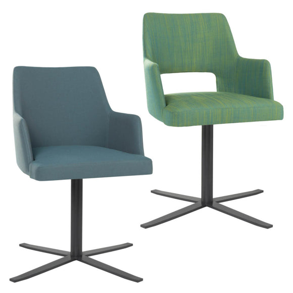 Alistair Swivel Arm Chair