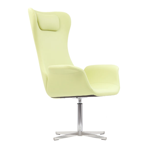 Aska Hi Swivel Arm Chair