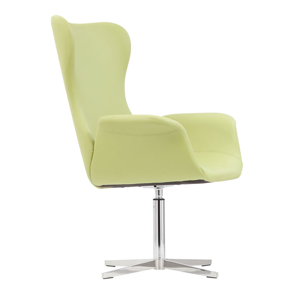 Aska Swivel Arm Chair