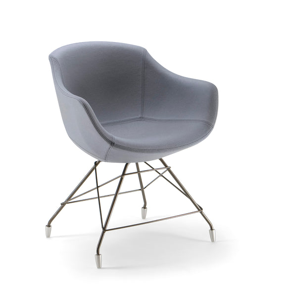 Biana Arm Chair - Spider Base