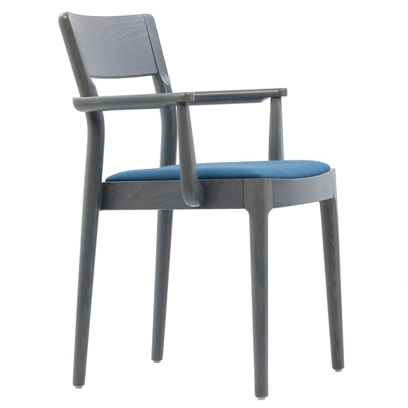 Busci Stackable Arm Chair