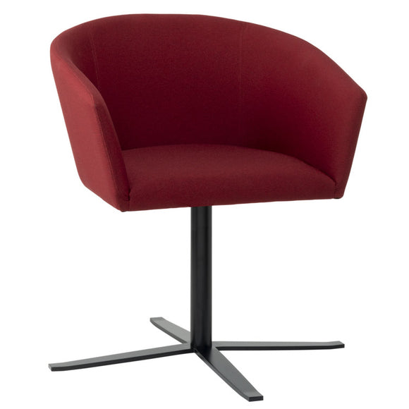 Night Upholstered Swivel Arm Chair