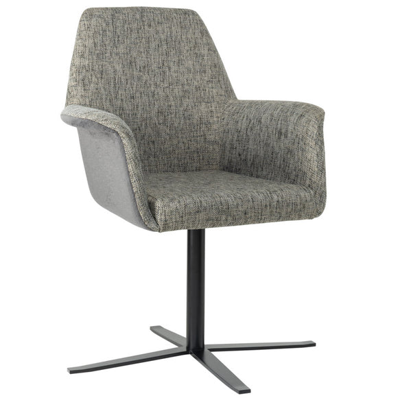 Pallas Swivel Arm Chair