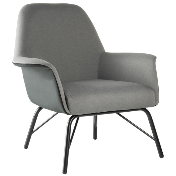 Pallas Steel Leg Lounge Chair
