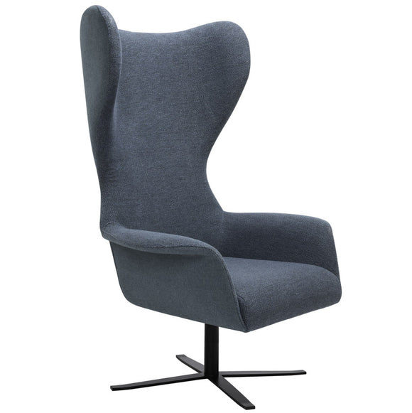 Pallas Wing Back Swivel Lounge Chair