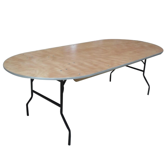 Race Track Folding Table