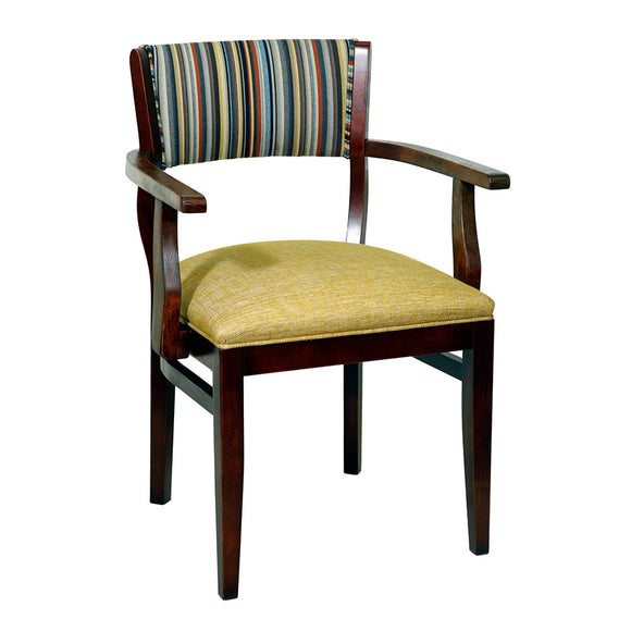Veterina Upholstered Arm Chair