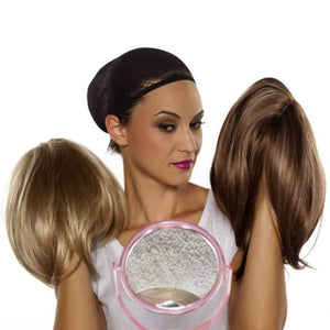 Easy Wear Silky Clip On Straight Hair Topper