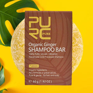 Root Protect - Organic Ginger Shampoo Bar