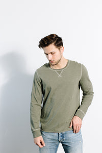 Dylan Crew L/S / Moss