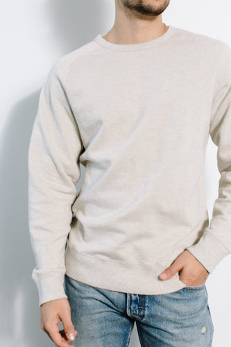 Simon Crewneck / Natural Heather