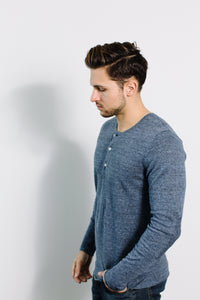 Heirloom Henley / Navy