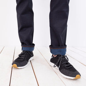 Weird Guy / Indigo x Natural Indigo Slub Stretch Selvedge