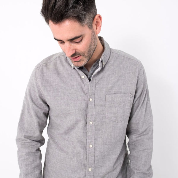 Ithaca Shirt / Heather Grey