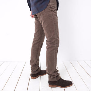 5 Pkt Cord Pant / Chocolate