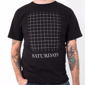Saturdays Grid S/S / Black