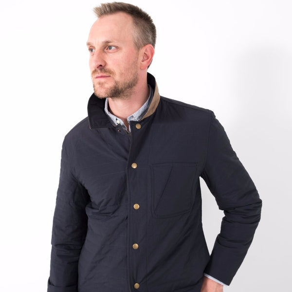 Leroy Shirt Jacket / Navy