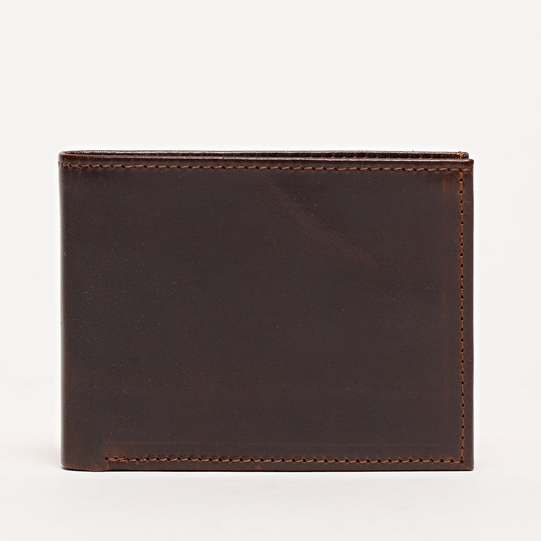 Bi-fold Wallet / Brompton Brown