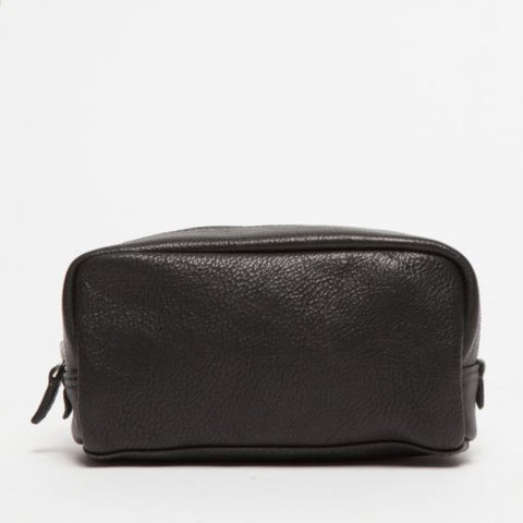 George Mini Dopp Kit / Titan Milled Gunmetal
