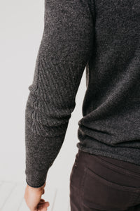Cashmere Crew / Charcoal