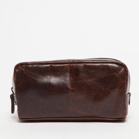 George Mini Dopp Kit / Brompton Brown