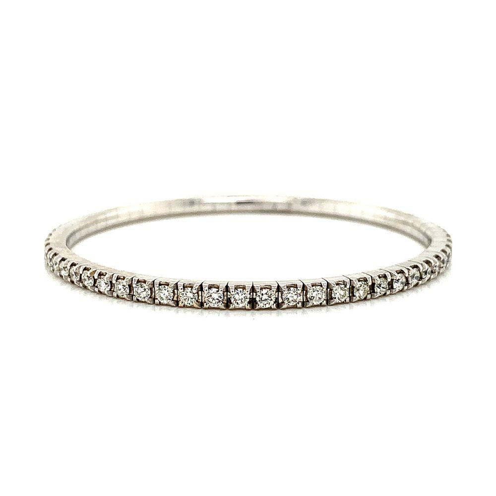Diamond Stretch Line Bracelet