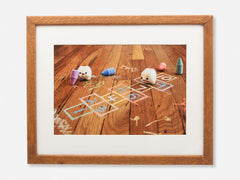 Hopscotch Framed Gallery Print