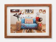 New Couch Framed Gallery Print