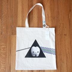 ickle's Organic Canvas Tote Bag