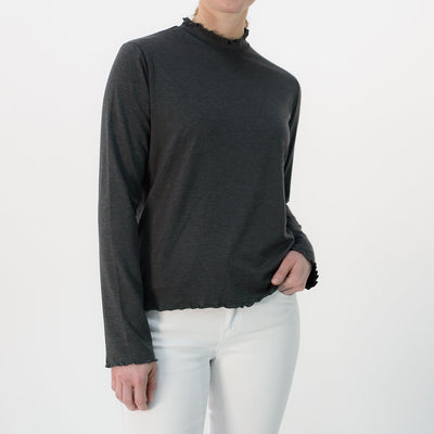 Marina Mock-Neck T-Shirt UPF 50+ - Sun50
