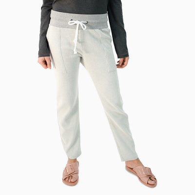 Bay Vista Beach Pants UPF 50+ - Grey and Natural- Sun50