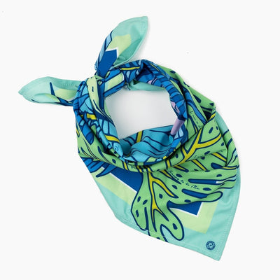 Tropical Palm Sun Bandana UPF 50+ - Sun50
