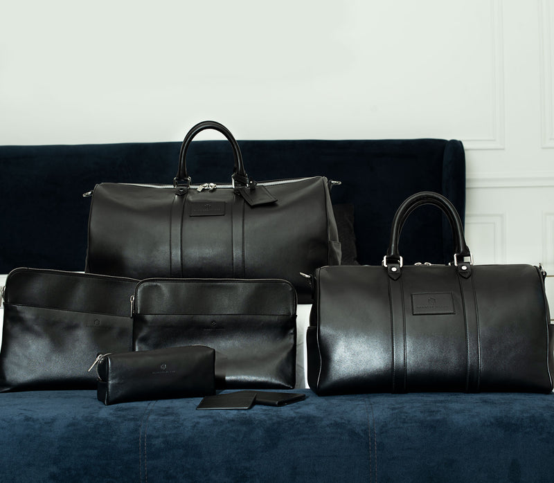 Brisso Black Travel Set