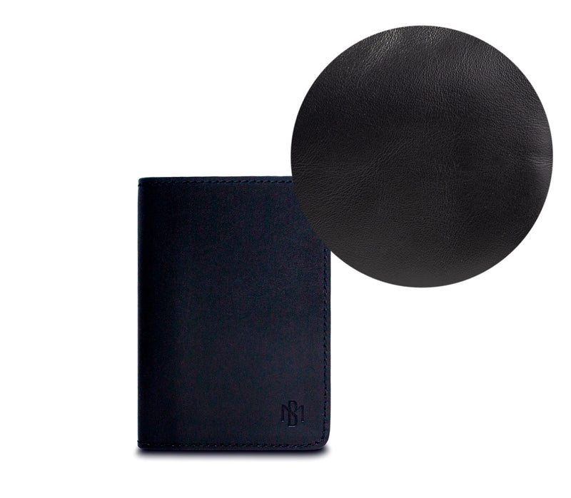Brisso Black Passport Holder
