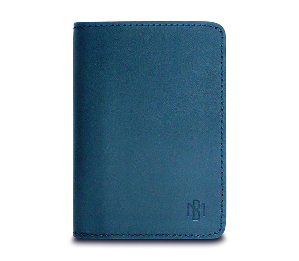 Brisso Blue Passport Holder