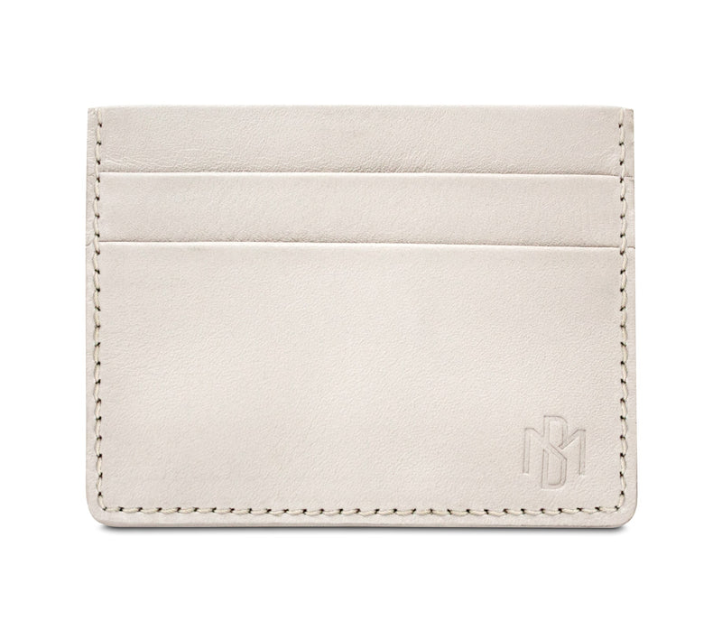 Brisso Off White Card Holder