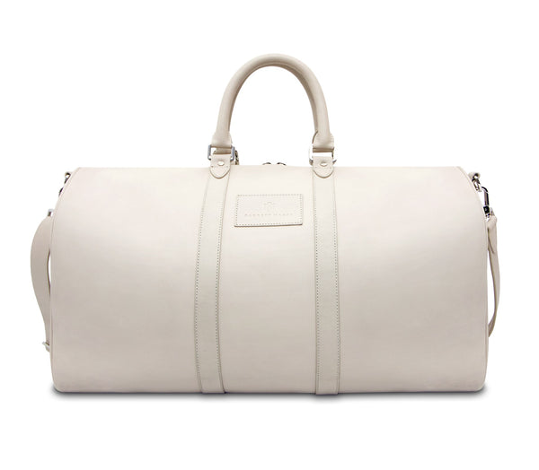 Brisso Off White Duffle Bag