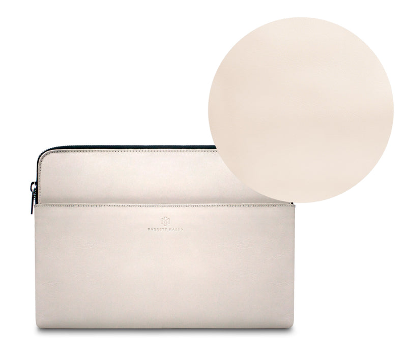 Brisso Off White Laptop Sleeve