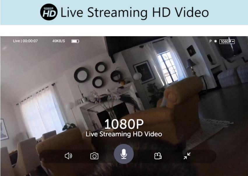 1080p Live streaming HD video