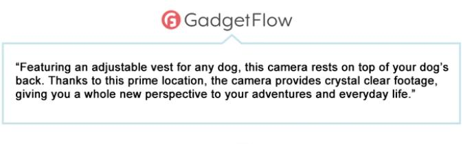 What gadgetflow said about PetNow Camera