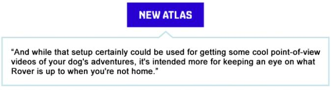 What New Atlas said about PetNow Camera