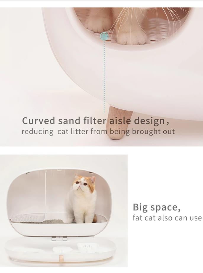 Stylish Cat Litter Box - PetNow