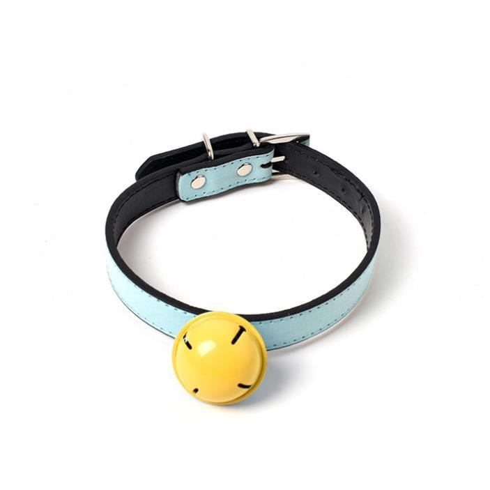 Leather Cat Collar with Safety Stretch & Bell - PetNow