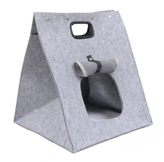 3 in 1 Multifunctional Handmade Felt Cat House - PetNow