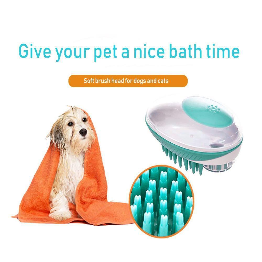 Shampoo Dispensing Grooming Brush for Pets - PetNow