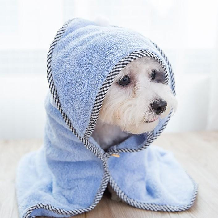Super Absorbent Microfiber Pet Bath Towel - PetNow