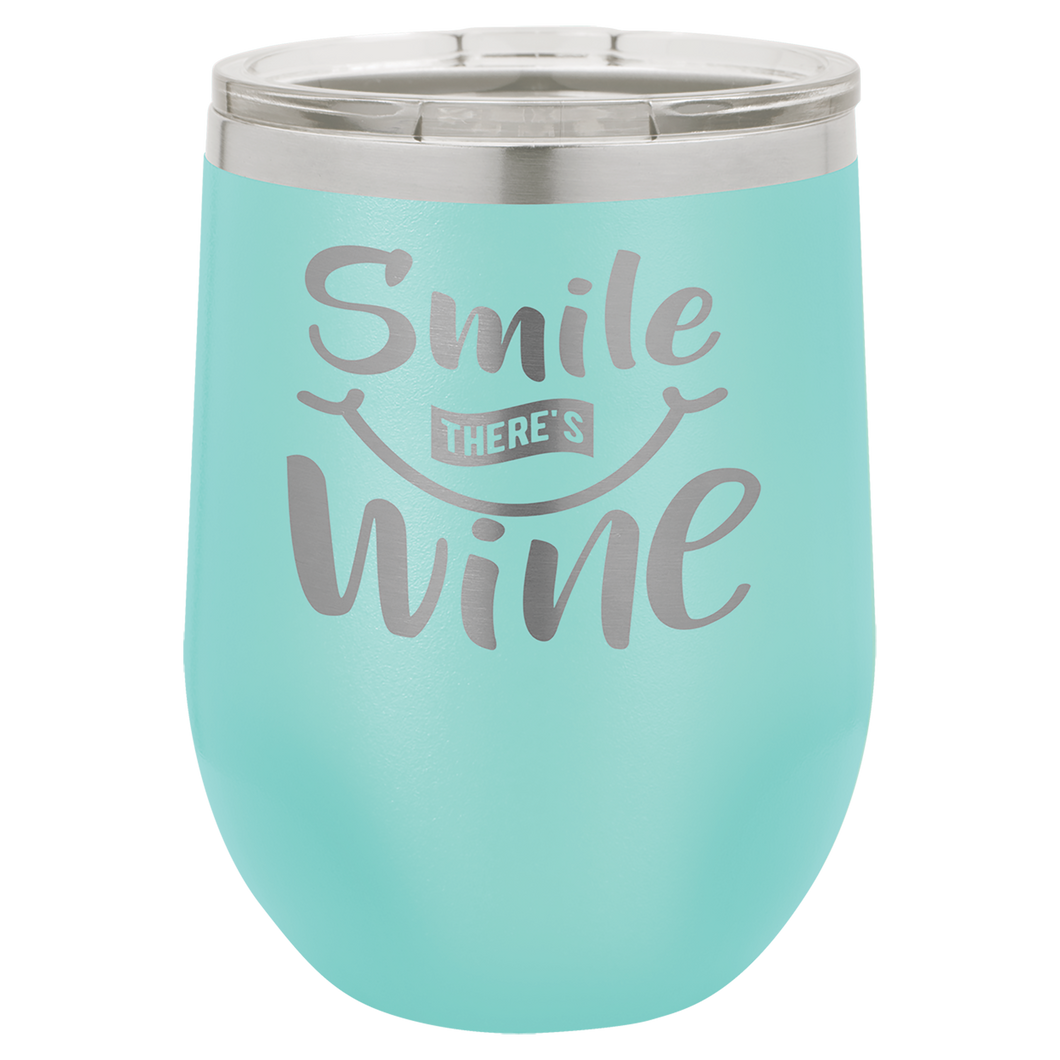 12 oz. Polar Camel Insulated Wine Tumbler
