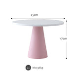 Wood cake stands Pink & purple